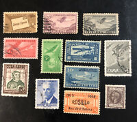Early 1CUBA Stamp Collection 1877-1958 Used & Mint Hinged See Description