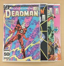 DEADMAN #1-4 (DC,1986) Complete Comic Mini Series