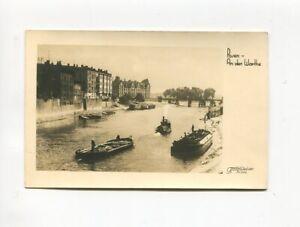 uralte AK Posen An der Warthe Fischerboote //20