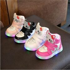 Kids Shoes LED Girls Glowing Casual Sneakers Lighted Children Shoe With Lights