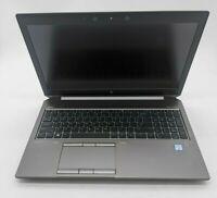 HP ZBook 15 G6 Intel Core i7 32GB DDR4 Windows 10 1TB SSD - TT0239