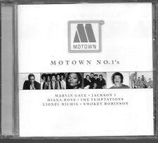 CD COMPIL 20 TITRES--MOTOWN NO.1'S--WONDER/RICHIE/TEMPTATIONS/JACKSON/ROSS...