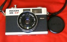 Ricoh 35 ZF with Rikoh Rikenon Lens f = 40mm ASA 1: 2.8   film camera + Case G.C