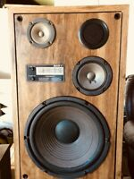 "Pair of Mark VI Studio Monitor 12 ""Speakers High and Mid Freq Driver"