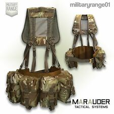 Marauder Special Forces Airborne Webbing MTP Set BUDGET (4 Pocket Belt + yoke)