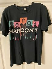 Maroon 5 (2013) Tour Shirt. 2 Sided. Ss. Black. M. Fast Shipping!