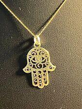 Halskette  585  Gelbgold 45 cm mit   Anhänger 585 Neu ungetragen