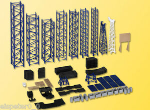 H0 Deko-Set Ladegut für Spezialtransport, Modellwelten Bausatz 1:87, Kibri 38650