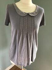 White Stuff Grey Tshirt Size 8
