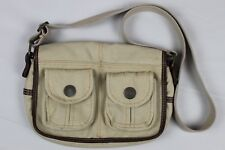 Levi's Tan Khaki Canvas Shoulder Messenger Bag Levi Strauss Adjustable Strap