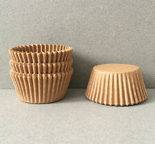 Unbleached Cupcake Liners, Unbleached Cupcake Wrappers, Natural Baking Cups