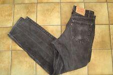 """Levi 550 Jeans Negros Para Hombre 34"""" Cintura 32"""" Leg - 34 X 32 Cierre De Cremallera"""