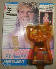 """WCW WORLD CHAMPIONSHIP WRESTLING BRIAN PILLMAN """"FLYIN' BRIAN"""" GALOOB/FASSI 1990"""