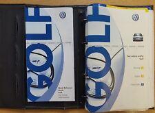 GENUINE VW GOLF Mk4 HANDBOOK OWNERS MANUAL WALLET 1997–2003 PACK C-787