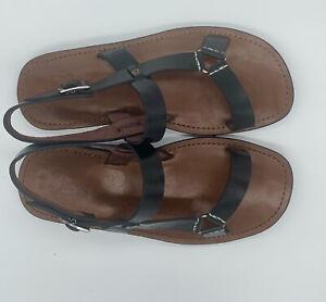 Jeego - Leather sandals men - handmade