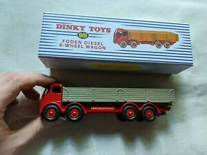 dinky toys 90I fodden diesel 8-wheel wagon reproduction model car L1 223 M