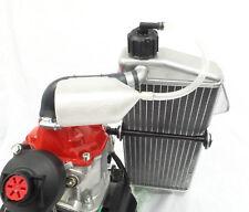Rotax overflow bottle and gearbox breather -Translucent- crg tonykart otk birel