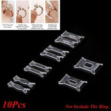 10Pcs/Set Ring Size Adjuster Pad Insert Guard Tightener Reducer Resizing Fitter