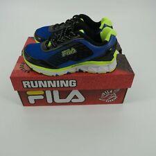 Fila Energistic Girls Running Shoes Blue Black 12