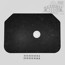 DMT B Body 1973 73 1974 74 Charger Hood Insulation Pad  Plastic Clips