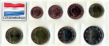 Serie completa EURO monete LUSSEMBURGO 2015 FDC DA ROTOLINO