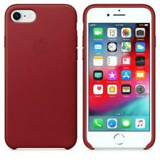 Apple Leather Case for iPhone 8, 7 - (PRODUCT) RED - Original (MQHA2ZM/A) - NEW™