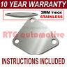 VOLVO V40 MITSUBISHI CARISMA EGR VALVE BLANKING PLATE 3MM STAINLESS STEEL NZ