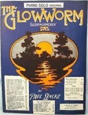 The Glow Worm Sheet Music 1932 Gluhwurmchen Idyl Eb Paul Linke Edward Marks