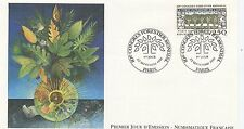 FIRST DAY COVER / PREMIER JOUR FRANCE 1991 / CONGRES FORESTIER MONDIAL PARIS