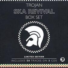 Trojan Box Set: Ska Revival Various Artists 3 CD, 2004, still-sealed NEW