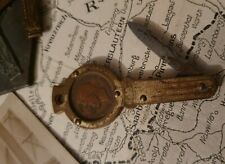 WW2 Trench Art Key Shaped Penknife with Farthing Coin dated 1943 Pendant