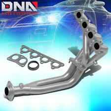 SILVER PAINT FINISH HEADER FOR CIVIC/CRX/DEL SOL D-SERIES SOHC EXHAUST/MANIFOLD