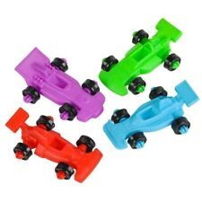"12 TOY MINI 2.0"" FORMULA RACE CARS!!! birthday party favors kids crafts art"