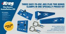 Limited Edition Kreg Hardware Installation Package Deal 3 Jigs + 2 Free Clamps