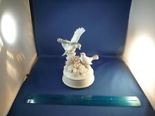 """Delicate Blue Birds On The Branches """"Make Someone Happy"""" Music Box"""