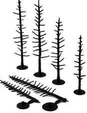"""Woodland Scenics Tree Armatures (Trunks) Conifer/Pine 4"""" to 6"""" 44-Pack"""