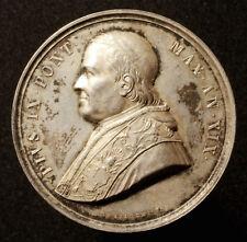 Vaticano, Pio IX, medaglia d'argento 1864, V. BIANCHI, rinnovo della Porta Pia, R!