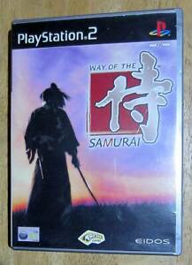 Way Of The Samurai Sony Playstation 2 Game Action/Adventure/Fighter/PS2