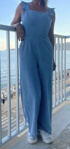 Superbe pantalon combinaison bershka Jeans Taille 36 Neuve