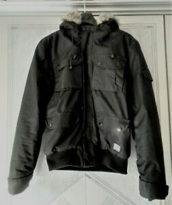 Supply And Demand Men's Black Winter Padded Coat Size M