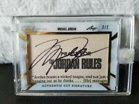 Michael Jordan SP Leaf Jordan Rules Signature *Only one on Ebay1/1* BGS(10)??