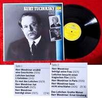 LP Kurt Tucholsky (DGG Wort Resonance 2571 123) D 1986