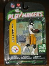 MCFARLANE PLAYMAKERS MIKE WALLACE Toy Figure - SEALED! w/ NFL hologram sticker!