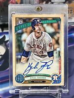 2019 Topps Gypsy Queen Kyle Tucker Houston Astros Rookie RC Signed Auto Card