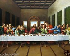 The Last Supper / Christian - Christianity 8 x 10 / 8x10 GLOSSY Photo Picture