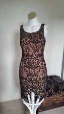 Size S Ladakh lace brown formal dress