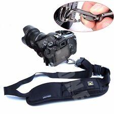 Single Shoulder Decompression Sling Quick Camera Belt Strap for DSLR Digital SLR