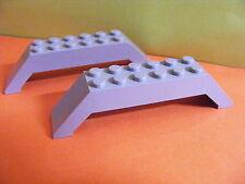Lego--30180--10 x 2 x 2  45°--Schrägstein-Dachstein-Brücke-2 Stück--Grau/OldGray
