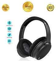 Active Noise Cancelling Headphones Bluetooth Headphones Over Ear, with Mic