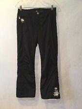Beautiful Women'S Bognar Black Snowboard/Ski Pants- Size 8 -Pristine!